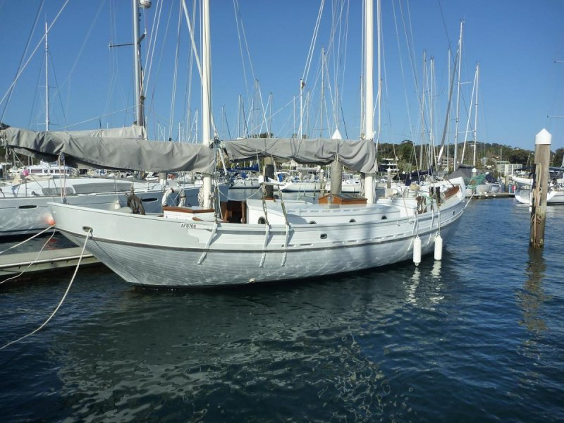 Setting up a topsail gaff rigged ketch - Main Forum