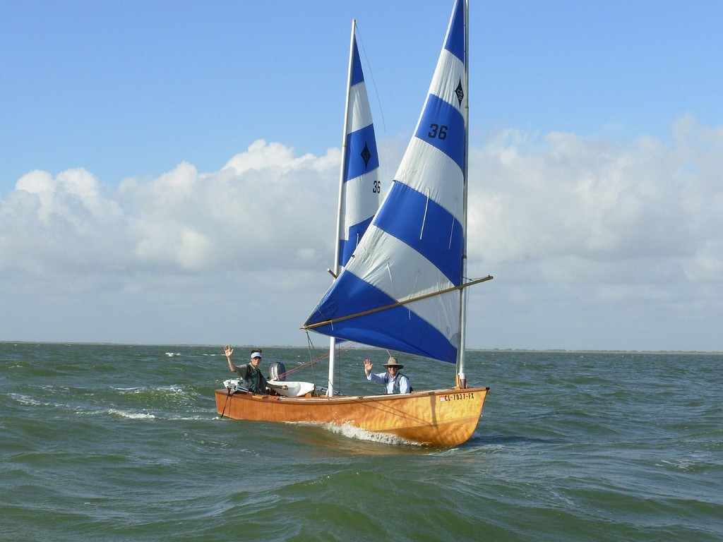 CS15 with a lug yawl rig - B & B Yachts Forum - messing-about Forums